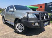 2012 Toyota Hilux KUN26R MY12 SR5 (4x4) Silver 4 Speed Automatic Dual Cab Pick-up Slacks Creek Logan Area Preview