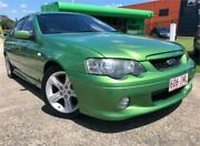 2004 Ford Falcon BA MkII XR6 Green 4 Speed Auto Seq Sportshift Sedan Slacks Creek Logan Area Preview