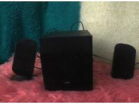Logik Speakers and Base