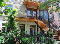 Beautilful & Bright 2bed Condo, Heart of Mile end, Plateau
