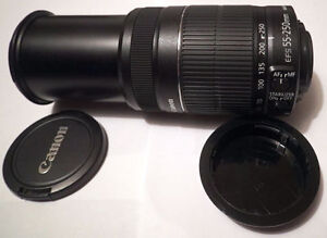 Canon EF-S 55-250mm f/4-5.6 IS II, New lens, lentille Neuf