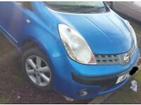 Nissan Note 1.6 Automatic Gearbox Breaking For Parts (2006)