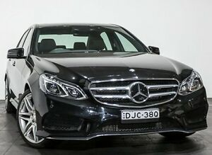 2013 Mercedes-Benz E250 CDI W212 MY12 BlueEFFICIENCY 7G-Tronic + Avantgarde Black 7 Speed Rozelle Leichhardt Area Preview