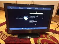 "Technika 22"" Lcd smart tv with DVD player"