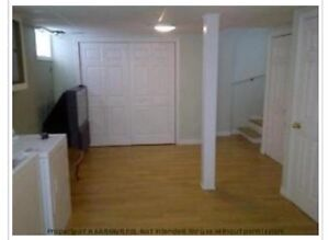 Basement apartment for rent / shared kitchen