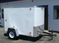 8ft Look Cargo Trailer- mint condition- 1 year old
