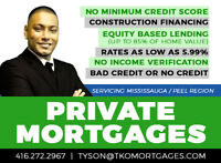 Private Mortgage ✪ Fast Approval ✚ Bad Credit ✚ No Income Ver. ✪