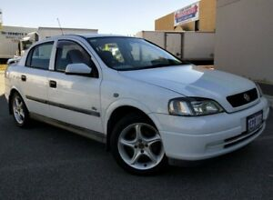 2003 Holden Astra TS City White 5 Speed Manual Sedan Malaga Swan Area Preview