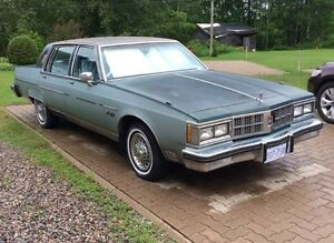 1981 Oldsmobile Delta 98 Regency Series