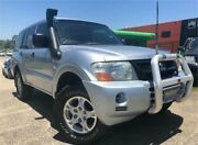 2004 Mitsubishi Pajero NP GLX LWB (4x4) Silver 5 Speed Auto Sports Mode Wagon Slacks Creek Logan Area Preview