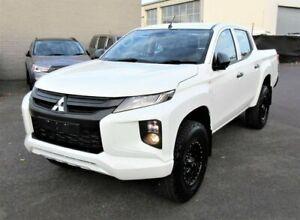 2019 Mitsubishi Triton MR MY20 GLX Double Cab ADAS White 6 Speed Sports Automatic Utility Lilydale Yarra Ranges Preview