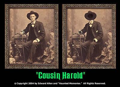 Haunted Halloween Portraits (Cousin Harold 5x7 Haunted Memories Changing Portrait Halloween Lenticular)