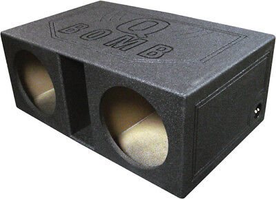 Vented Woofer - Qpower Dual 12