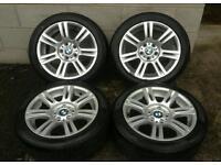 BMW E90 LCI M SPORT ALLOYS