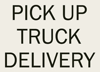 Pick Up Truck Delivery Service