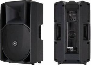 Hire: 2x RCF 710 PA DJ SPEAKERS 750 WATT FOR HIRE IPOD PARTY Glen Iris Boroondara Area Preview