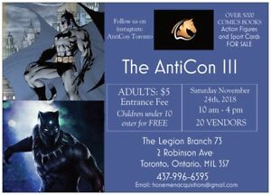 HORSEMEN AntiCon III COMIC AND COLLECTIBLE CONVENTION