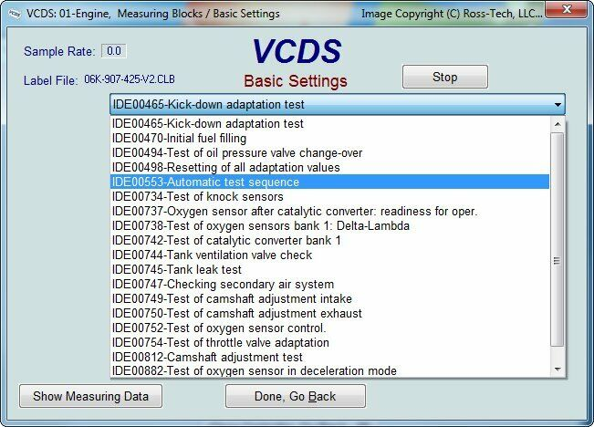 VCDS (VAG COM) Diagnostic Scanning + Coding + Adaptation for Audi VW