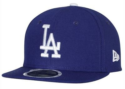 KIDS Los Angeles LA Dodgers Fitted Cap New Era 5950 MLB Authentic Collection Hat