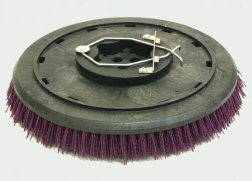 "Set (2) Tennant Nobles 1018455 1220227 SSR T7 16"" Heavy Grit Floor Brush"