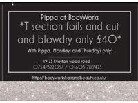 *Hair offer* highlights/foils £40!! Norwich!