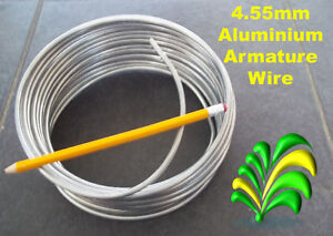 4.55mm x 5m Thick Aluminium Craft Modelling / Armature Frame Wire