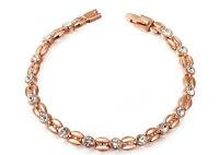 Bracelet plaqué or 3 couches : 12$