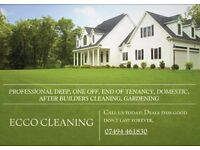 Residential and commercial cleaning specialist