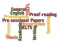 English Courses (IELTS, TOEFL, General, Proofreading Thesis&Papers)