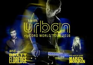 2 Keith Urban Tickets Syracuse NY
