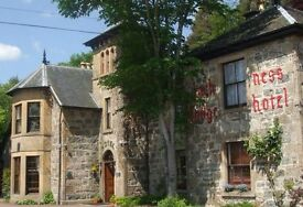 *** STAFF URGENTLY WANTED FOR A COUNTRY HOUSE HOTEL BESIDE BEAUTIFUL LOCH NESS .. ***