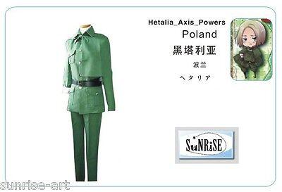 APH Axis Powers Hetalia Cosplay Costume Custom Made -  Poland APH21