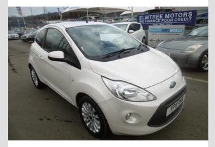 Ford Ka   Zetec In Pearl White Reduced