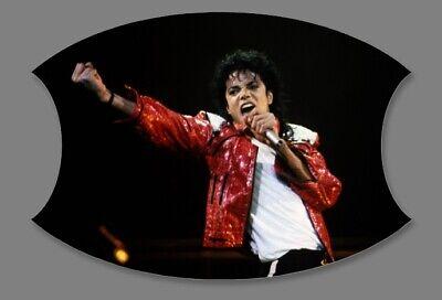 Michael Jackson Custom Face Mask with Filter Pocket #1011140