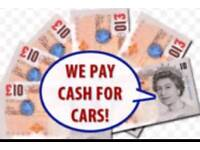 Scrap your car Today cash £££ on collection Today