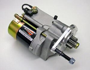 Triumph tr2 tr3 bomb replacement hi torque starter motor for Hi torque starter motor