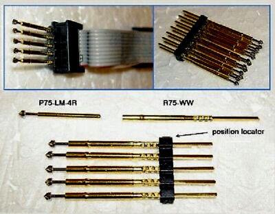 1.5mm 6 position Spring Loaded Pogo Pin Adapter Jtag