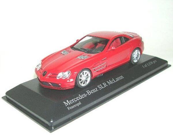 Mercedes-Benz SLR McLaren (2003) feueropal-rot
