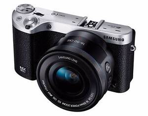 BRAND NEW: Samsung NX500 28.2MP 4K Mirrorless Camera Body (Black) Abbotsford Yarra Area Preview