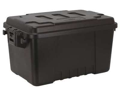 Utility Trunk, Polypropylene, Black, 56 qt. PLANO MOLDING 1619-00