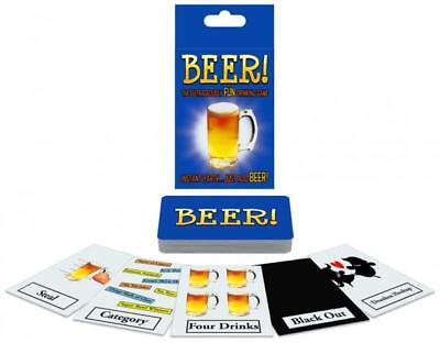 - 52 Cards Drinking Game - BEER! Instant Party, Just Add Beer for Outrageous Fun