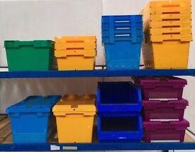 Plastic Tote Storage Bins