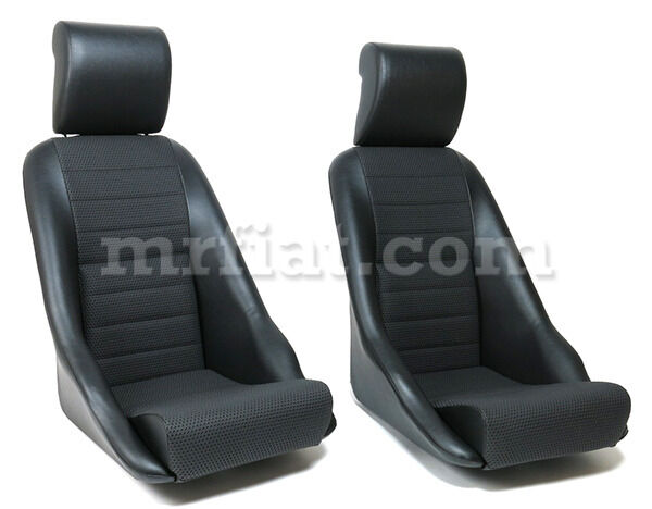 Porsche 914 Leatherette Basketweave Seat Set New