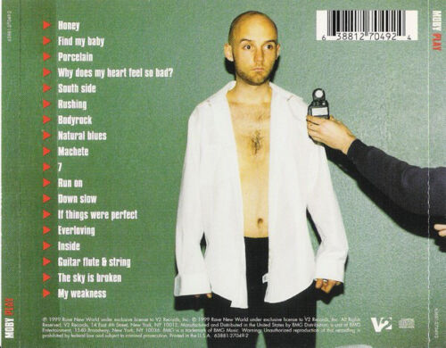 Play Cd By Moby New Sealed