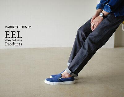 EEL Products Japan Made Paris To Denim Indigo Denim Jeans SzL RRP$237 Unisex
