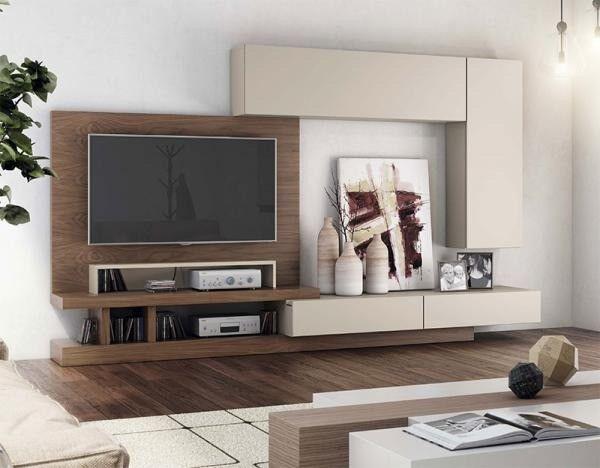 Nice Modern Matt Sand / Wood Veneer Wall Storage System RRP £3130 50% OFF