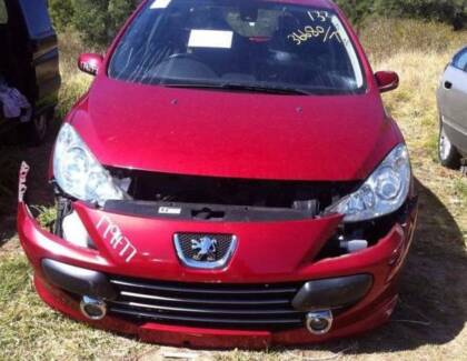 WRECKING 2005 PEUGEOT 206 HATCH 1.6L AUTO ALL PARTS DELVD FREE