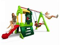 Little Tikes club house swing set play centre