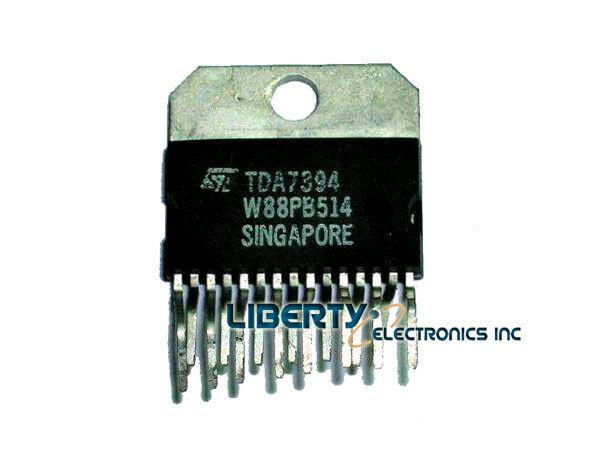 Tda7394 - 2 X 30w Dual Bridge Car Radio Amplifier