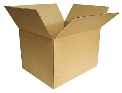 "Corrugated Boxes 8 x 6 x 3""  100pcs Fast Shipping"
